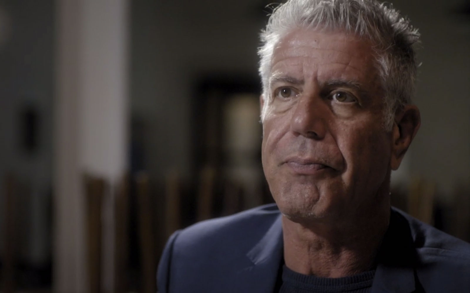 Anthony Bourdain in Post-Brexit London