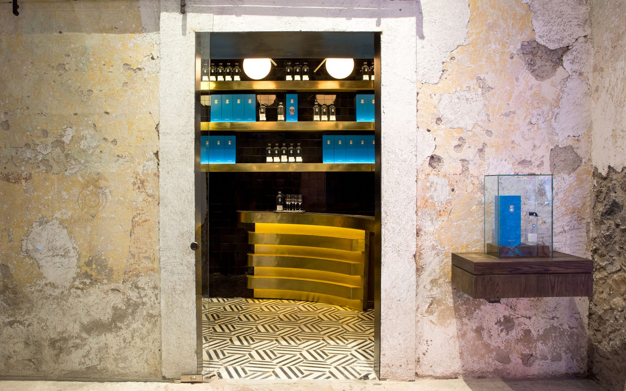 Casa Dragones, the World's Smallest Tequila Tasting Room