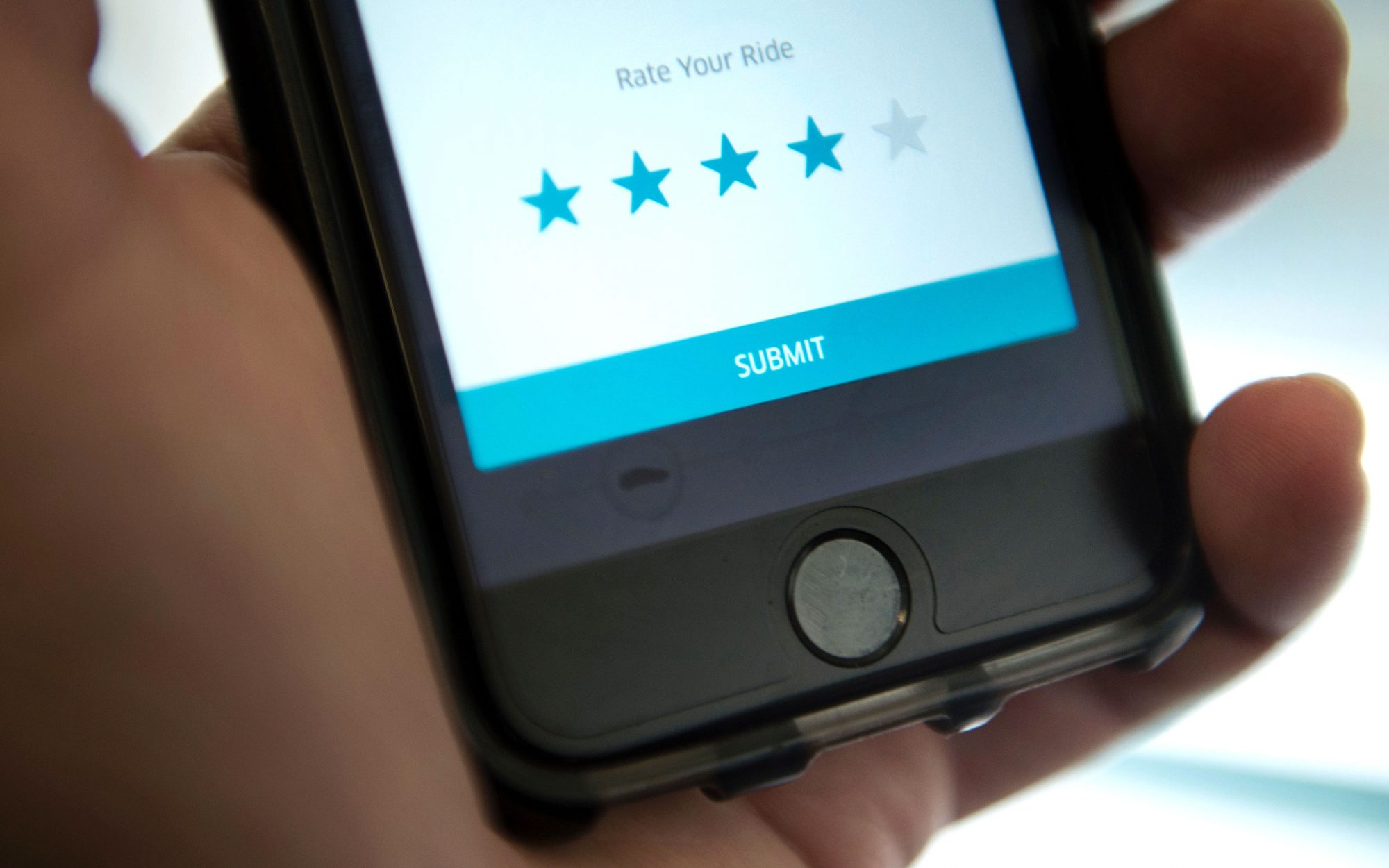 How to Find and Improve Your Uber Rating