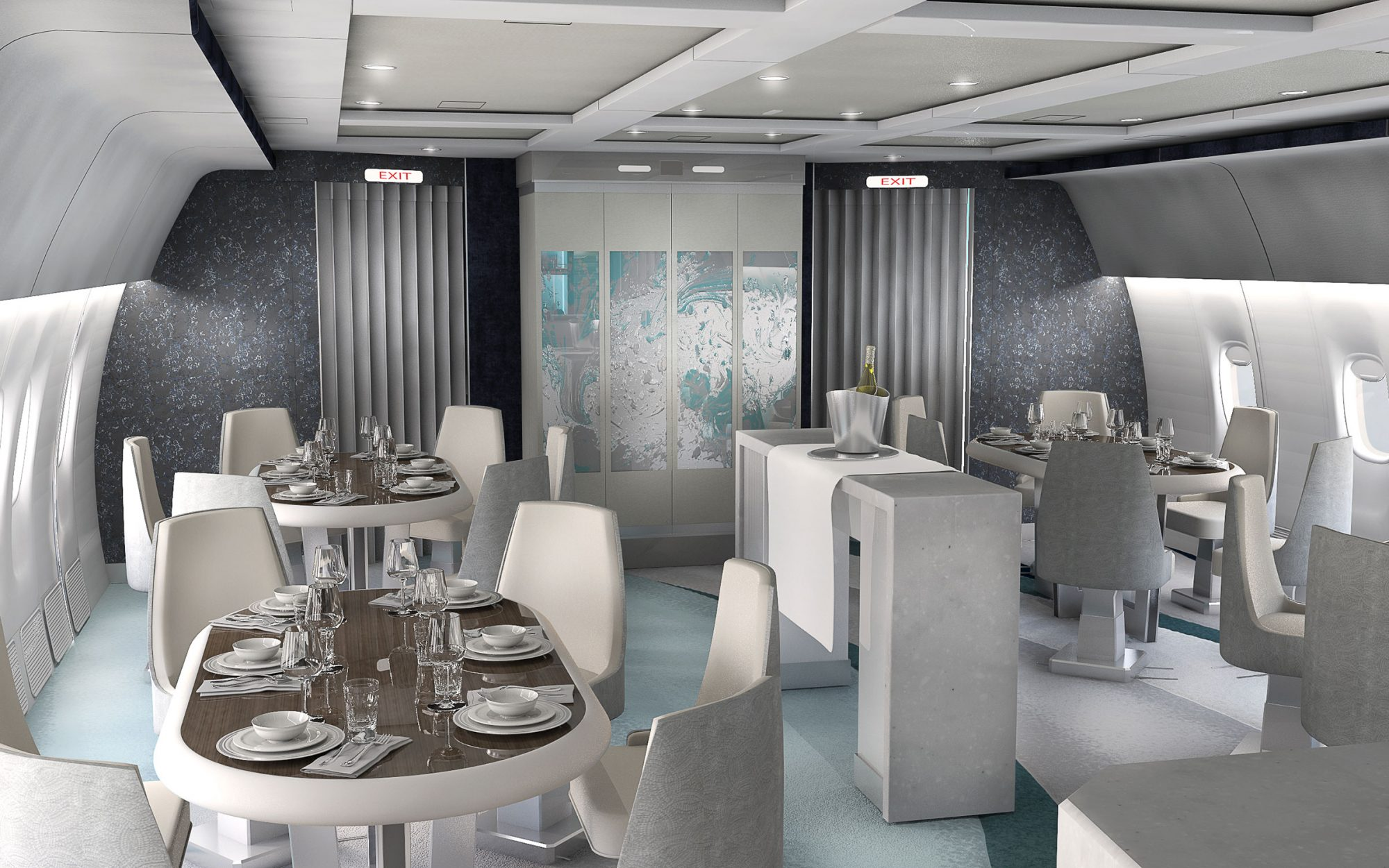 An Inside Look at Crystal Cruises' New Ultra-Luxe Private Jet