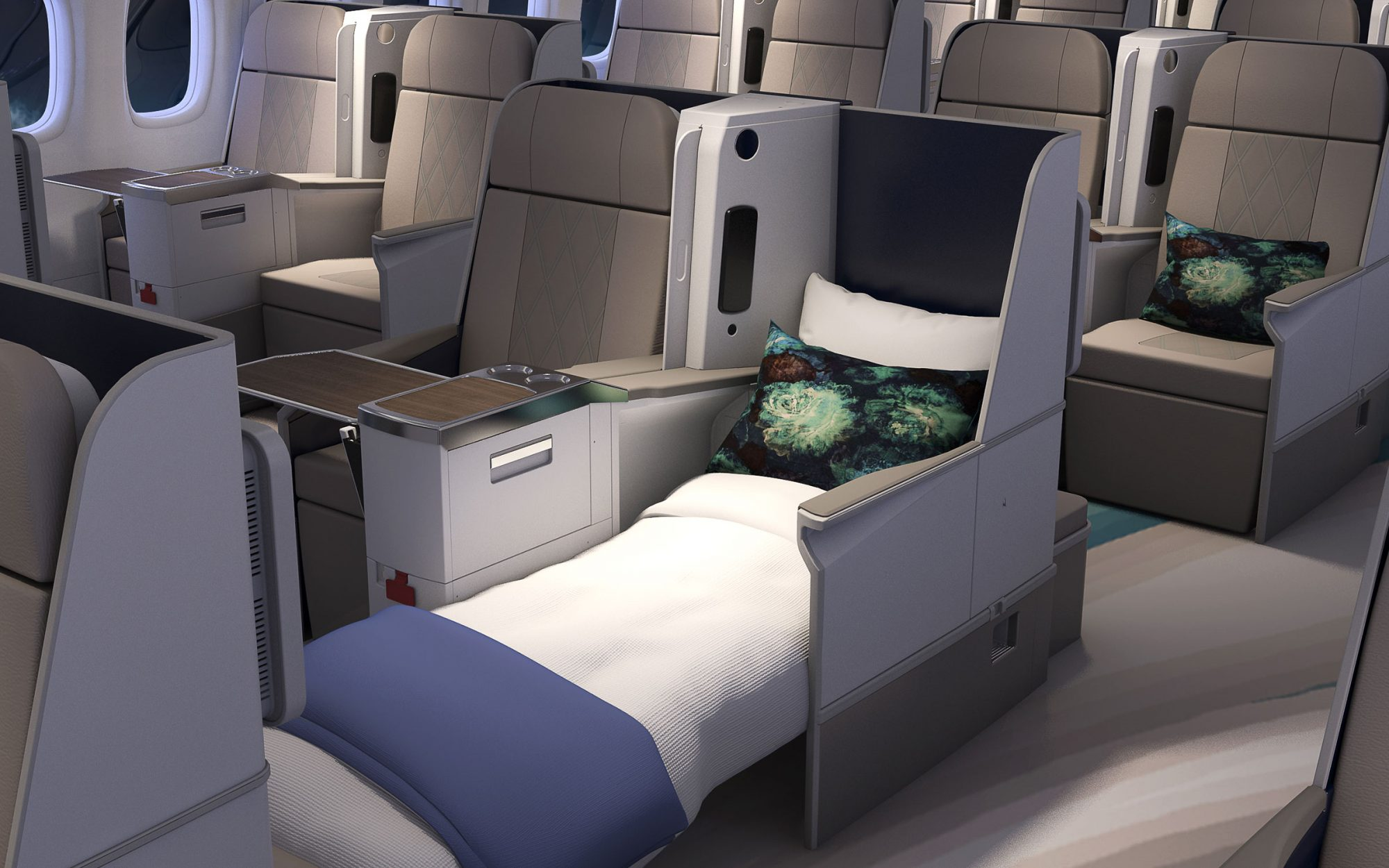 Crystal Cruises Unveils Luxury Plane Design