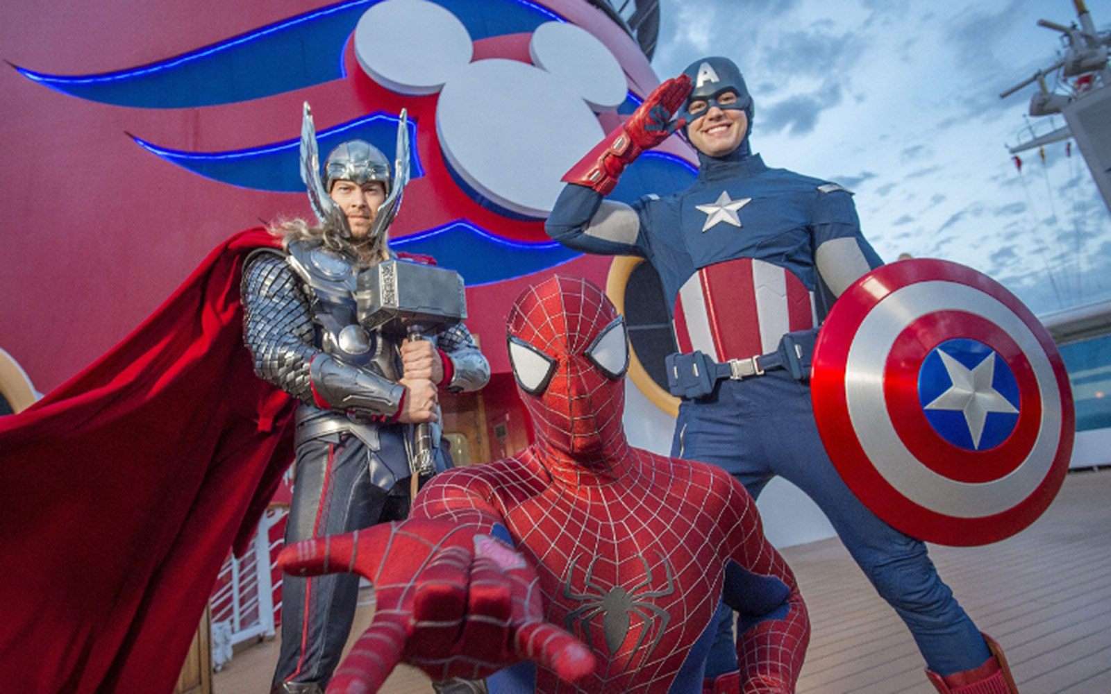 First-Ever Marvel Day at Sea on Select Disney Magic Sailings