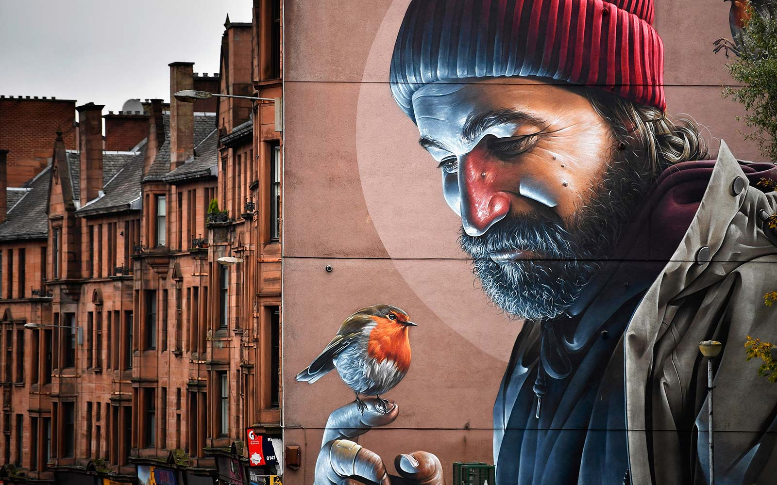 Glasgow's New Mural Trail Creates Walking Tour of City's Stunning Street Art
