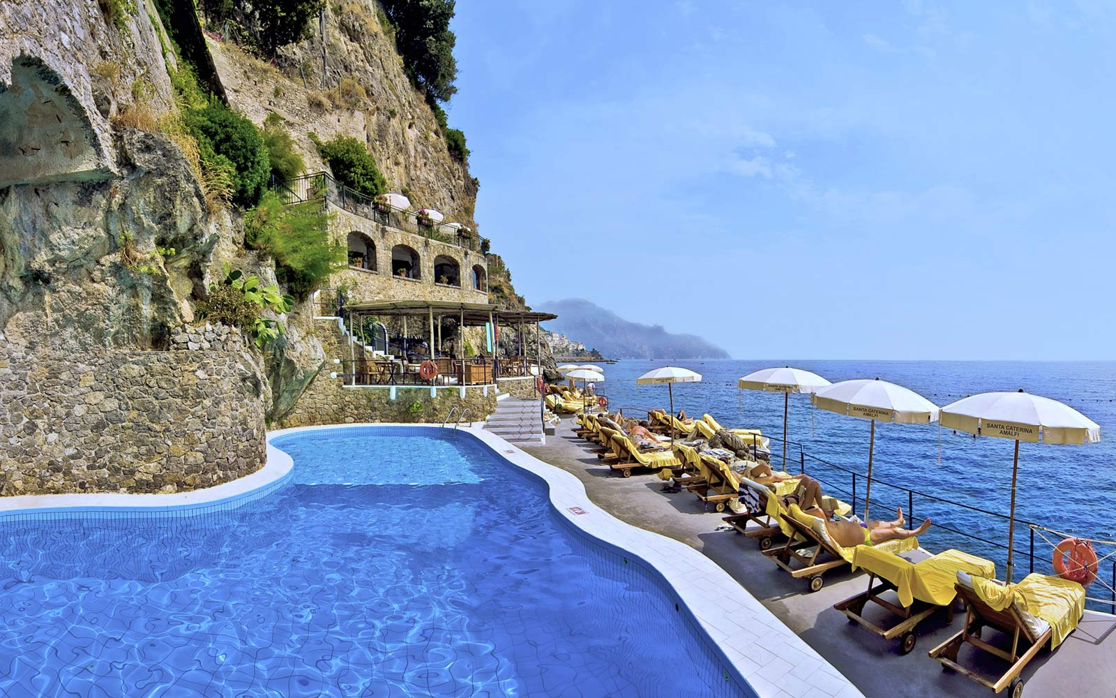 How to travel to the amalfi coast travel leisure for Beautiful hotels