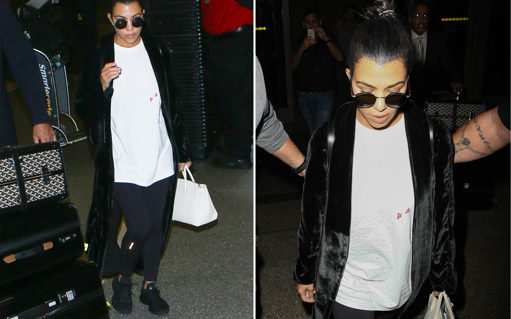 Where to Buy Kourtney Kardashian's Travel Shoes and Backpack