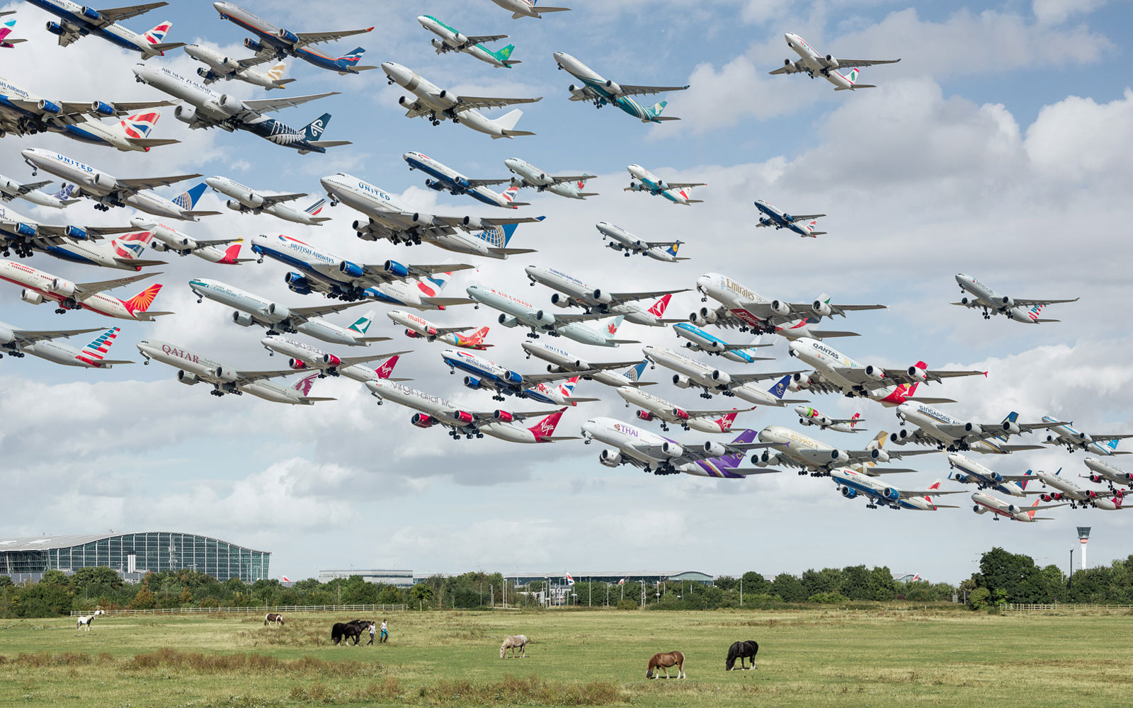 London Heathrow.