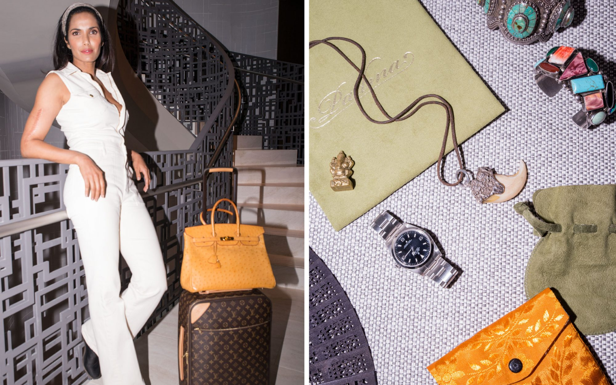 Padma Lakshmi's Travel Essentials
