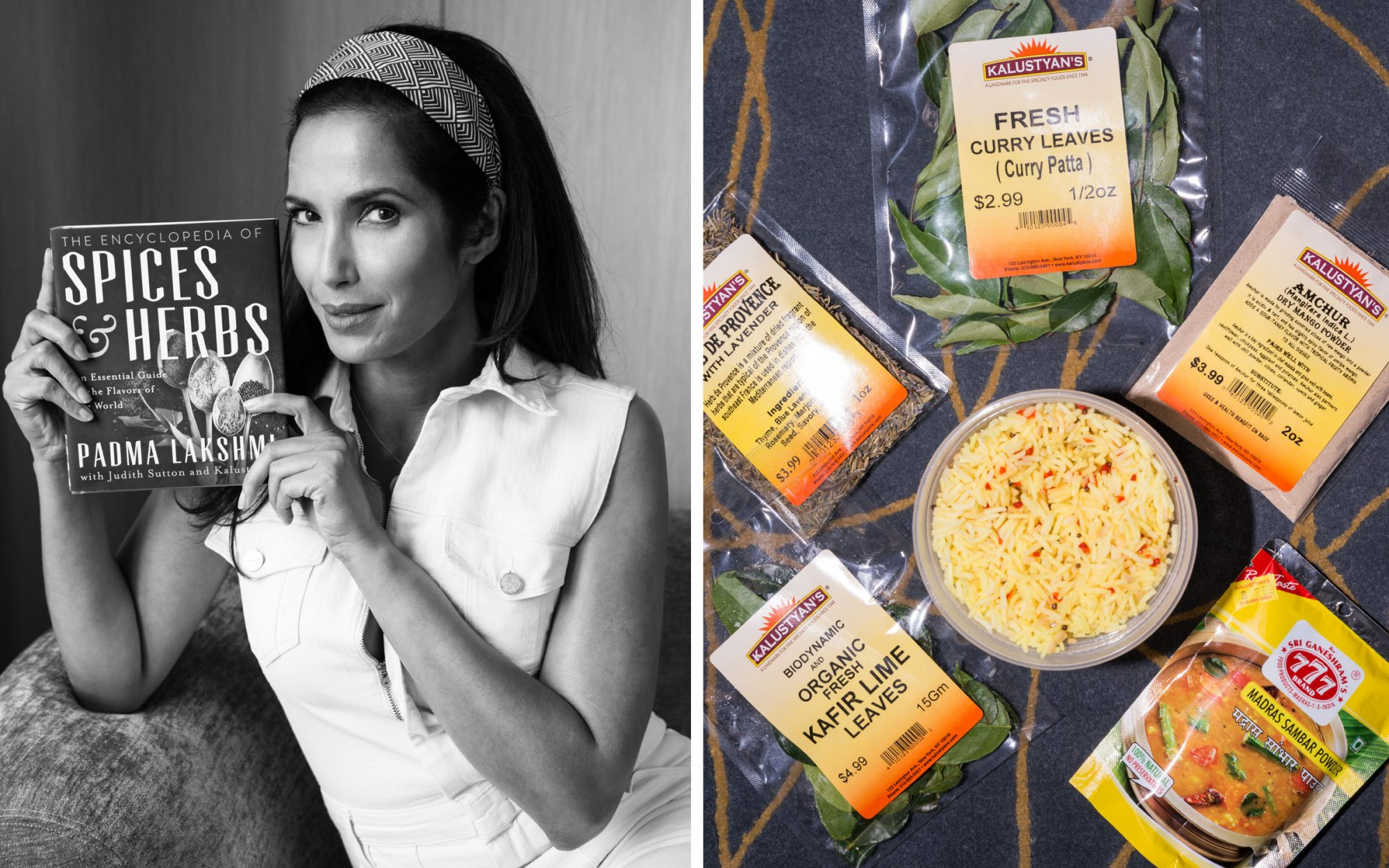 T + L Carry On with Padma Lakshmi