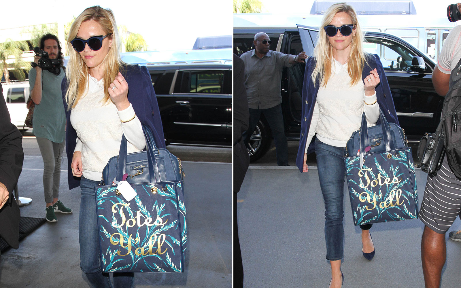 How to Get Reese Witherspoon's Airport Style