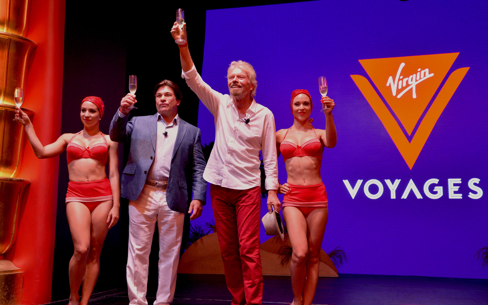 Richard Branson Launches Virgin Voyages Cruise Line