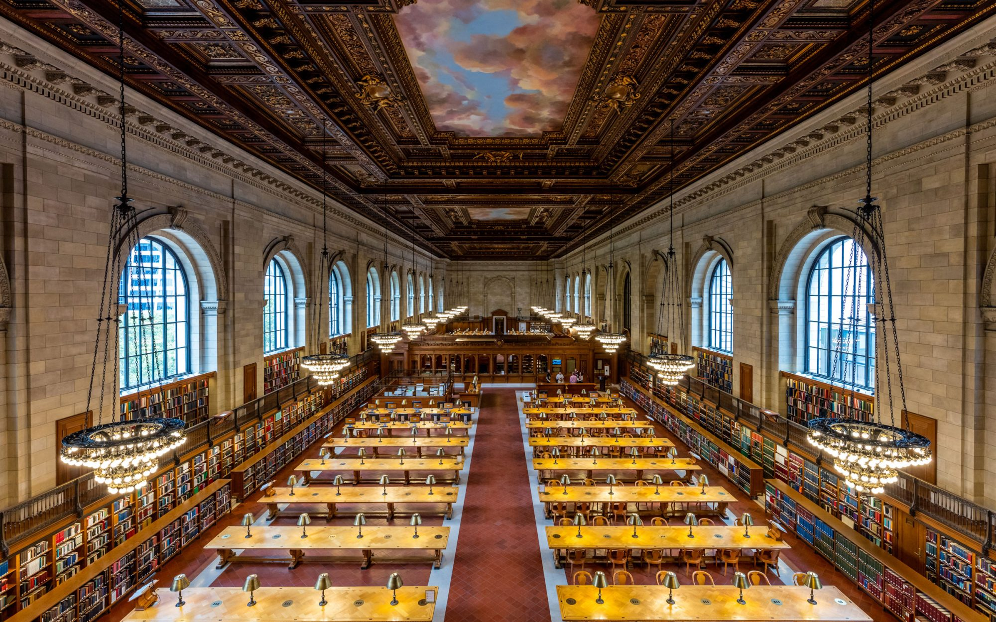 New York Public Library Reopens the Historic Rose Room
