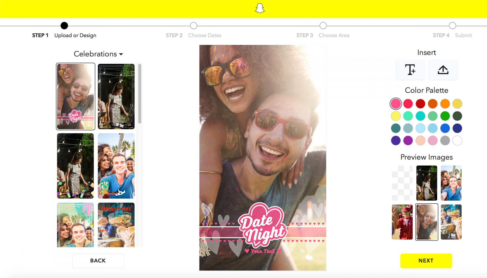 How to make a Snapchat geofilter for your next vacay