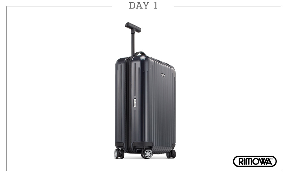 Day 1: Rimowa Salsa Air Ultralight Cabin Multiwheel (Navy Blue)
