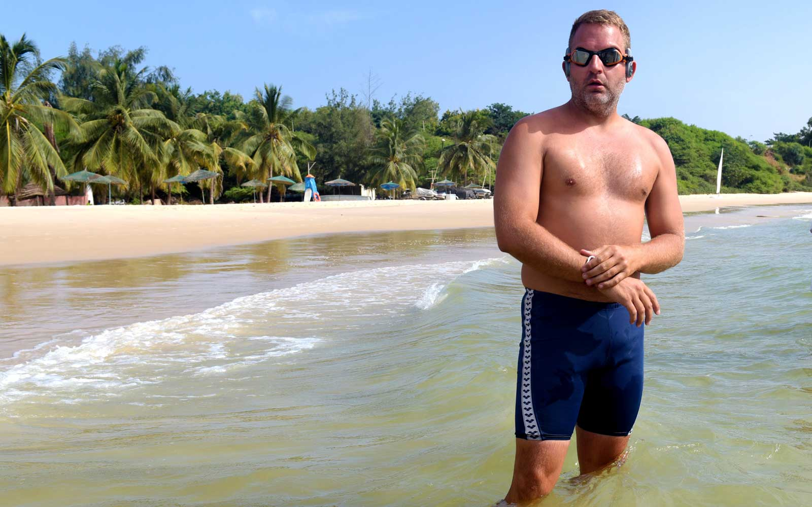 A British Man Is Trying to Swim the 2,000 Miles From Africa to South America