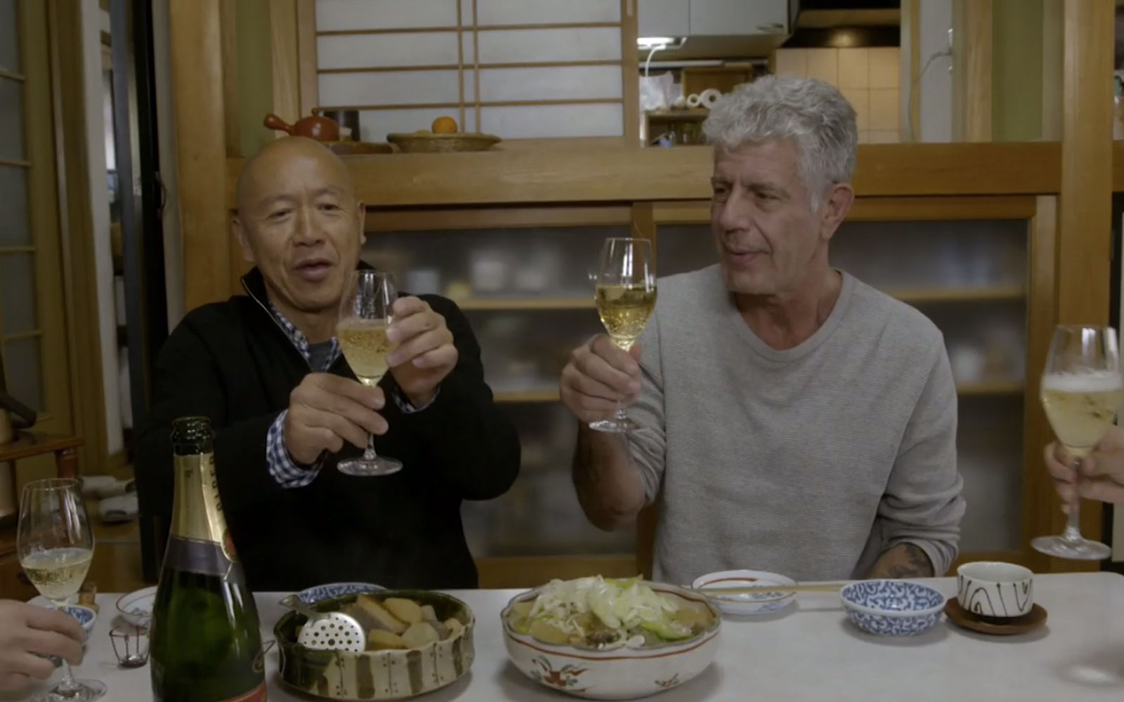 Anthony Bourdain Takes a Food Tour of Japan With Chef Masa Takayama