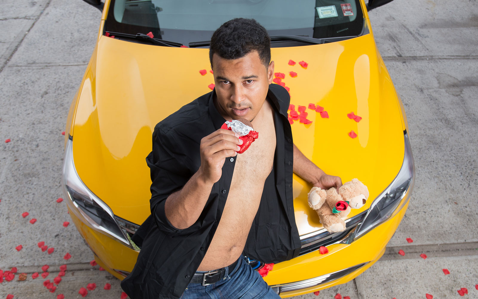 New York City Taxi Drivers Pose for the Ultimate 2017 Calendar