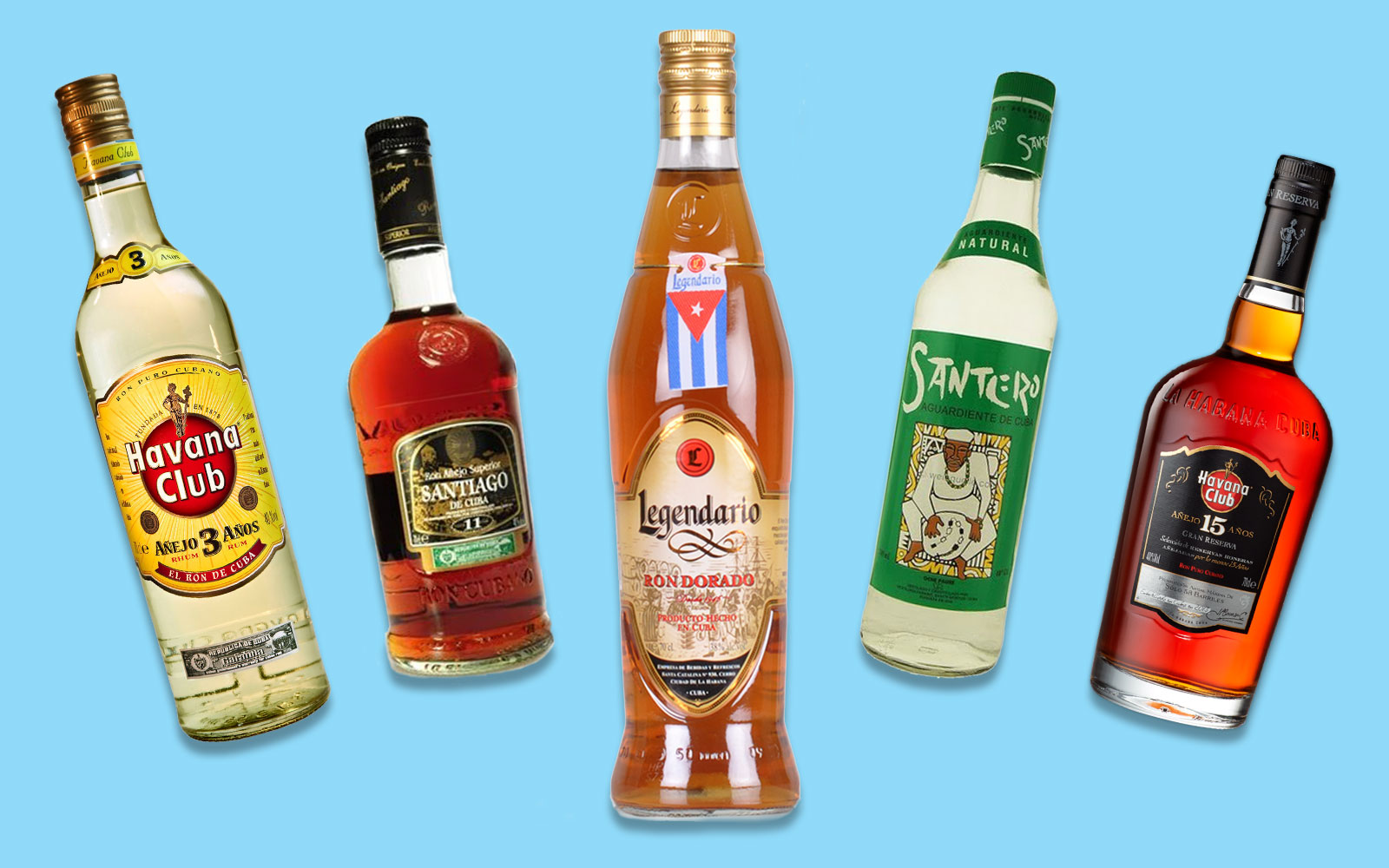 Cuban Rums to Bring Home With You