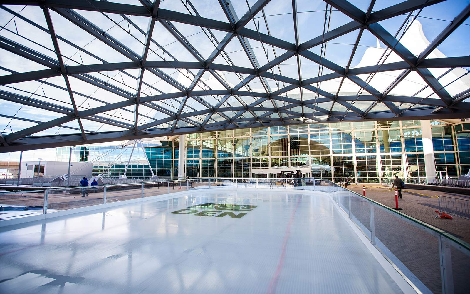 Denver Airport's Ice Rink