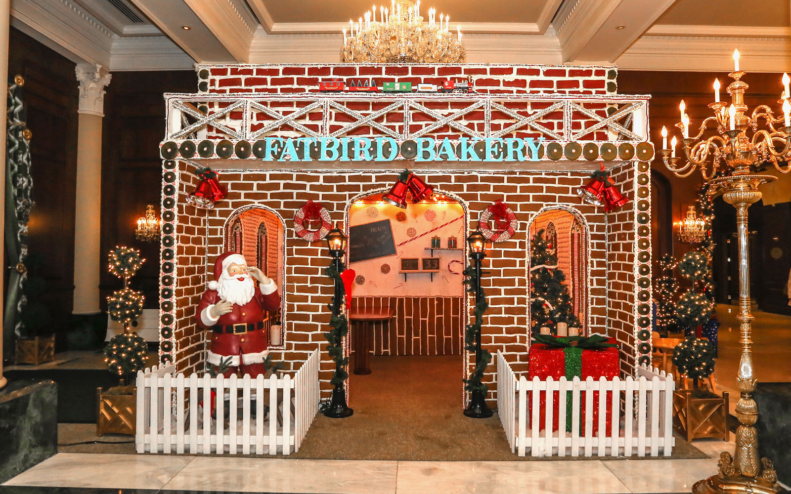 This Life-size Gingerbread House Is Sure to Get You in the Holiday Spirit