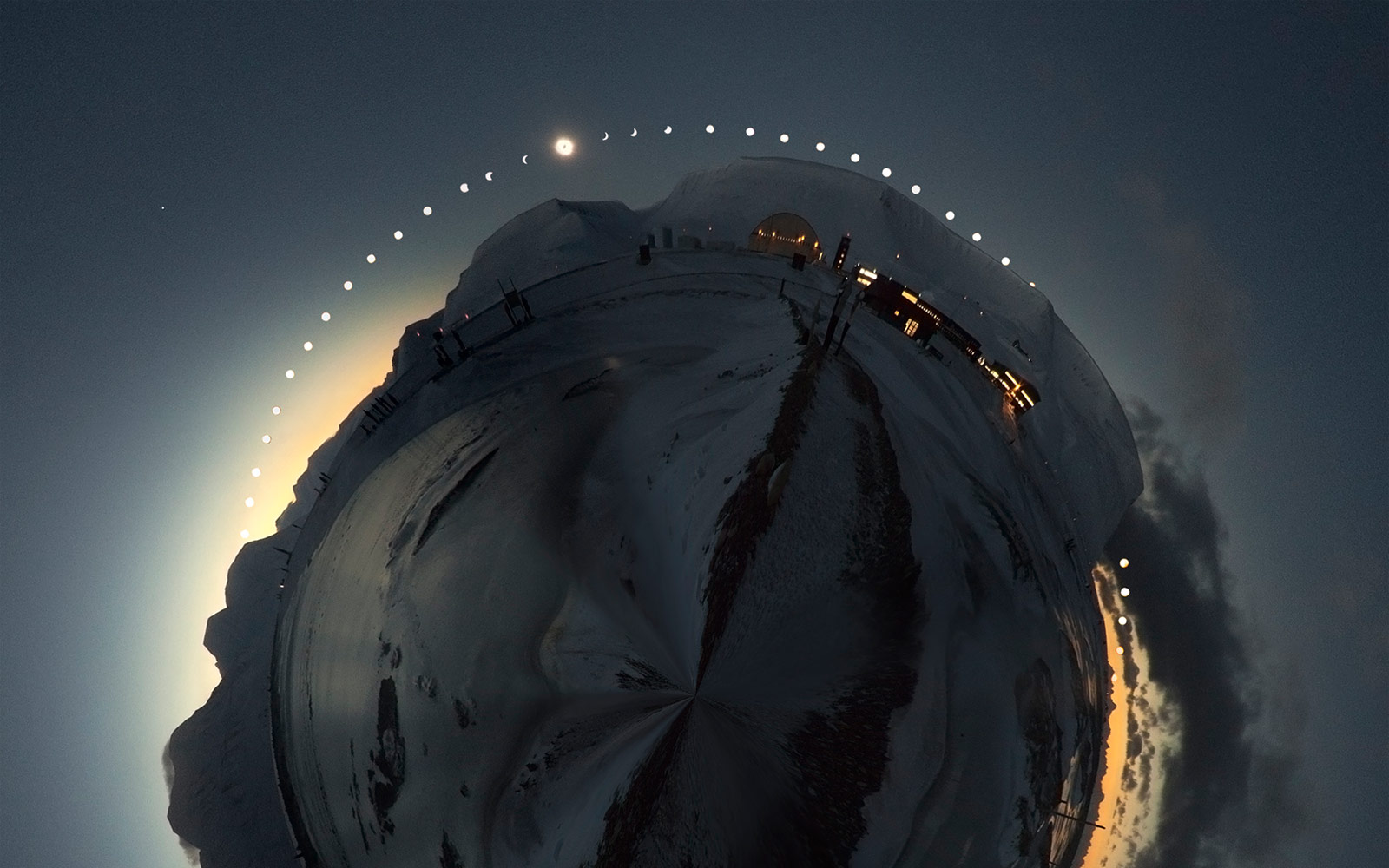 This Total Solar Eclipse Photo Took 12 Hours to Shoot
