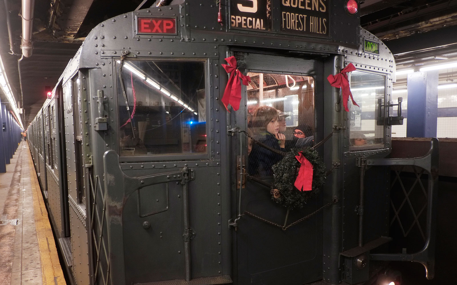 Take a Ride Back in Time With New York's Annual Holiday Vintage Train Rides