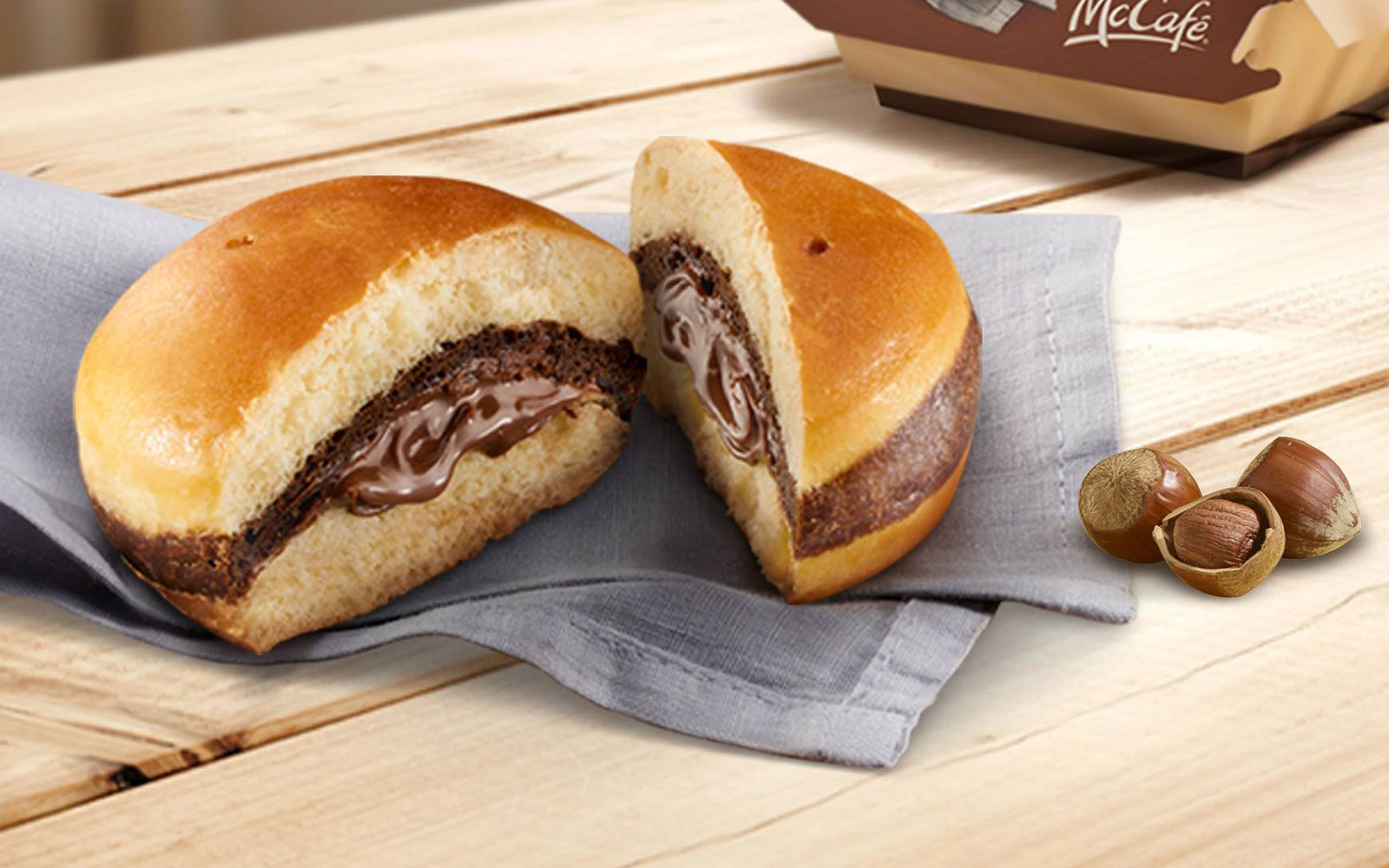 McDonald's Is Offering a Nutella Burger in Italy