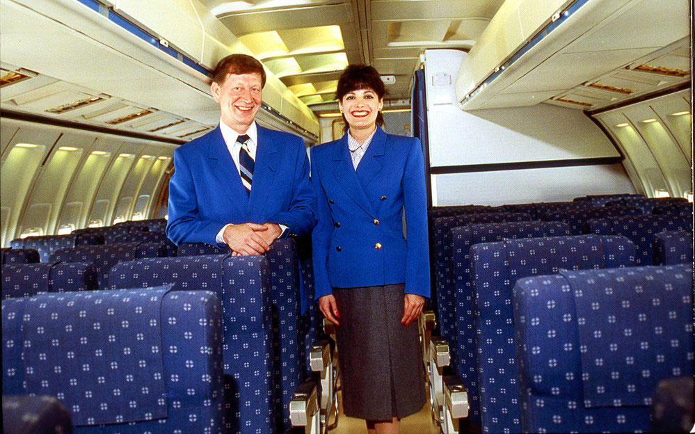 Pan Am flight attendants.