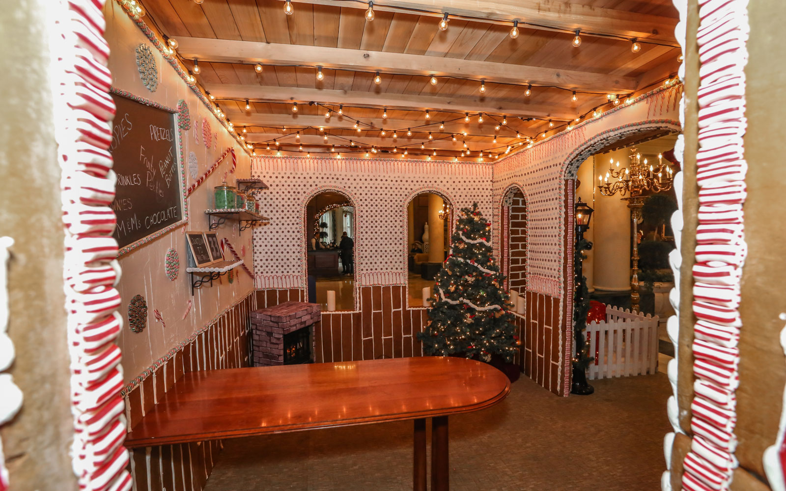 Gingerbread Interior