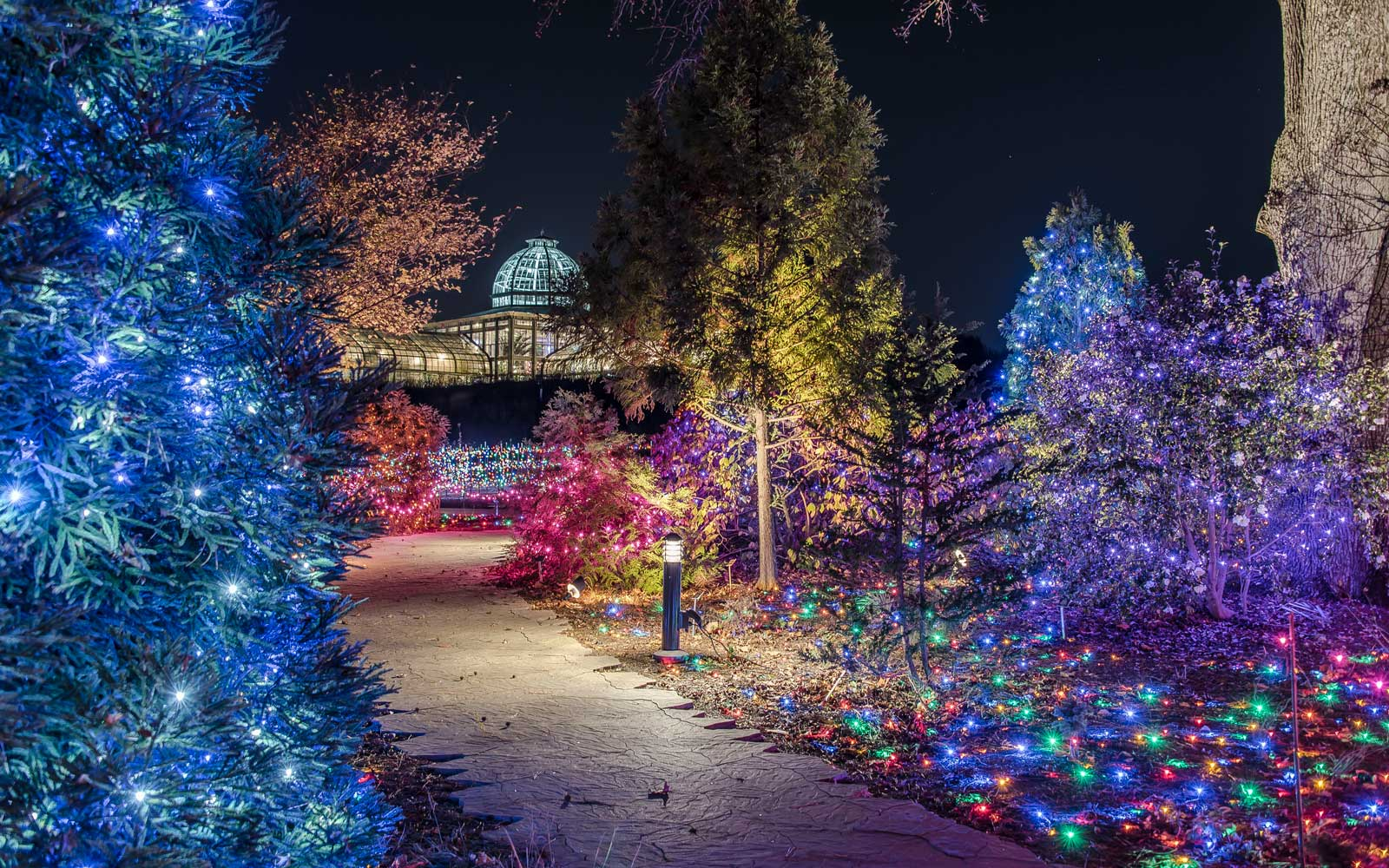 americas favorite cities for christmas lights 2016 travel leisure