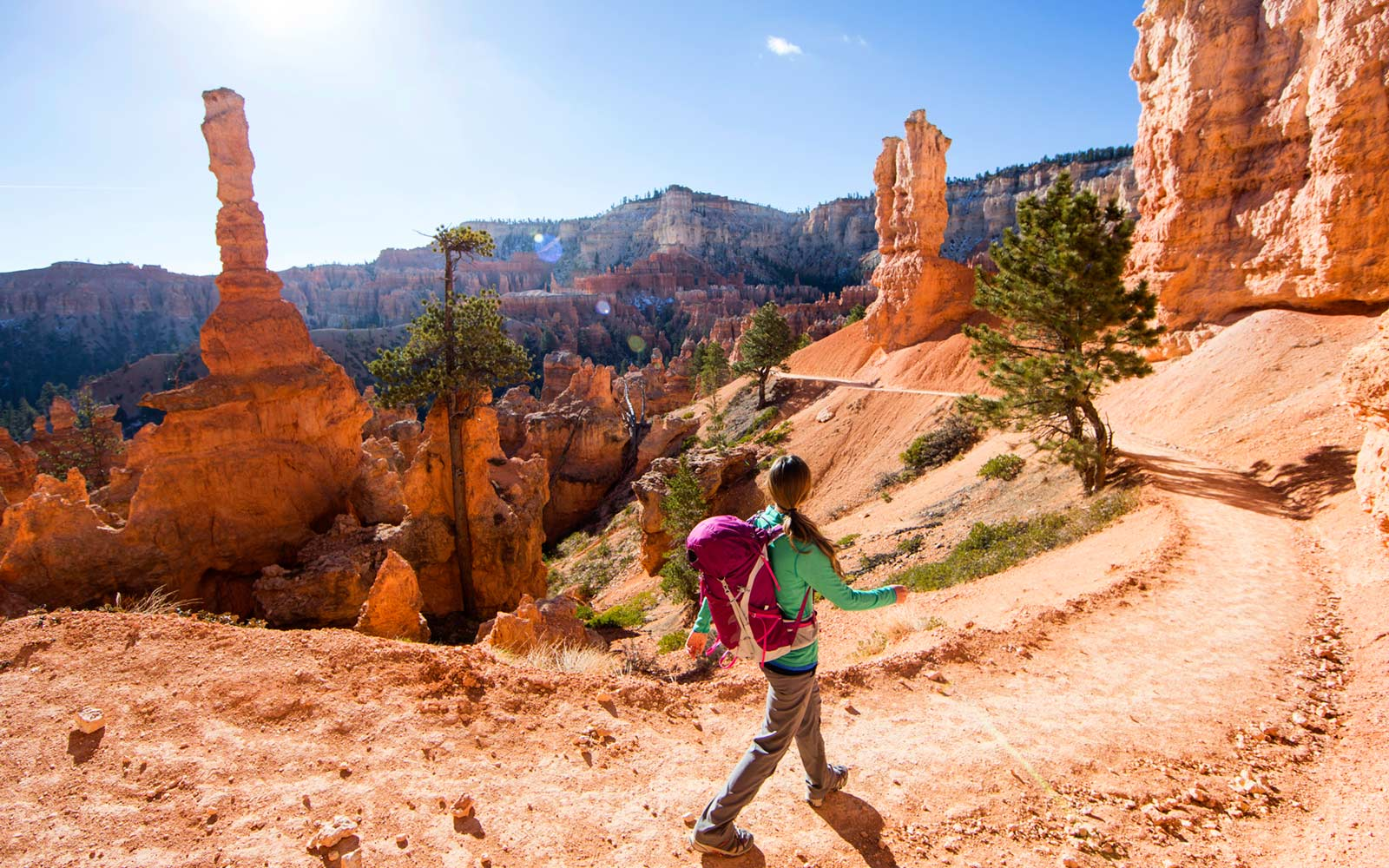 Hiking, Bryce Canyon National Park, Utah