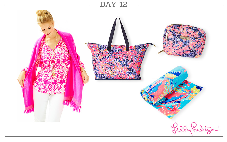 Day 12: Lilly Pulitzer Ultimate Beach Getaway Pack
