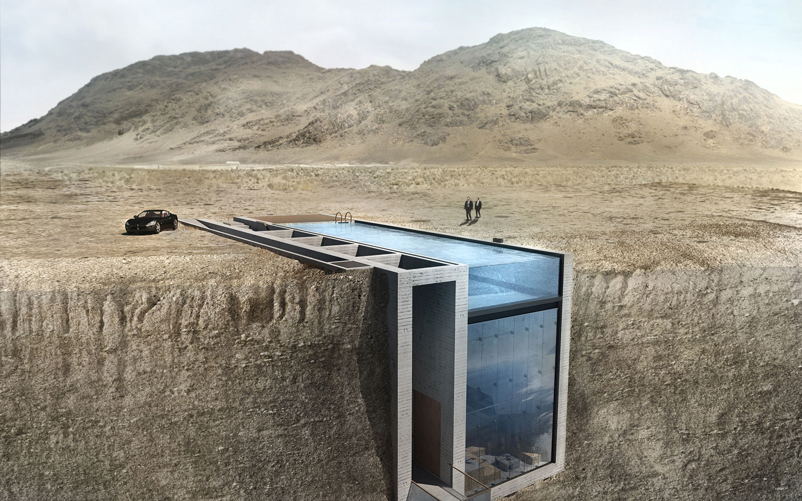 This Cliff House Just About Ensures an Unobstructed View