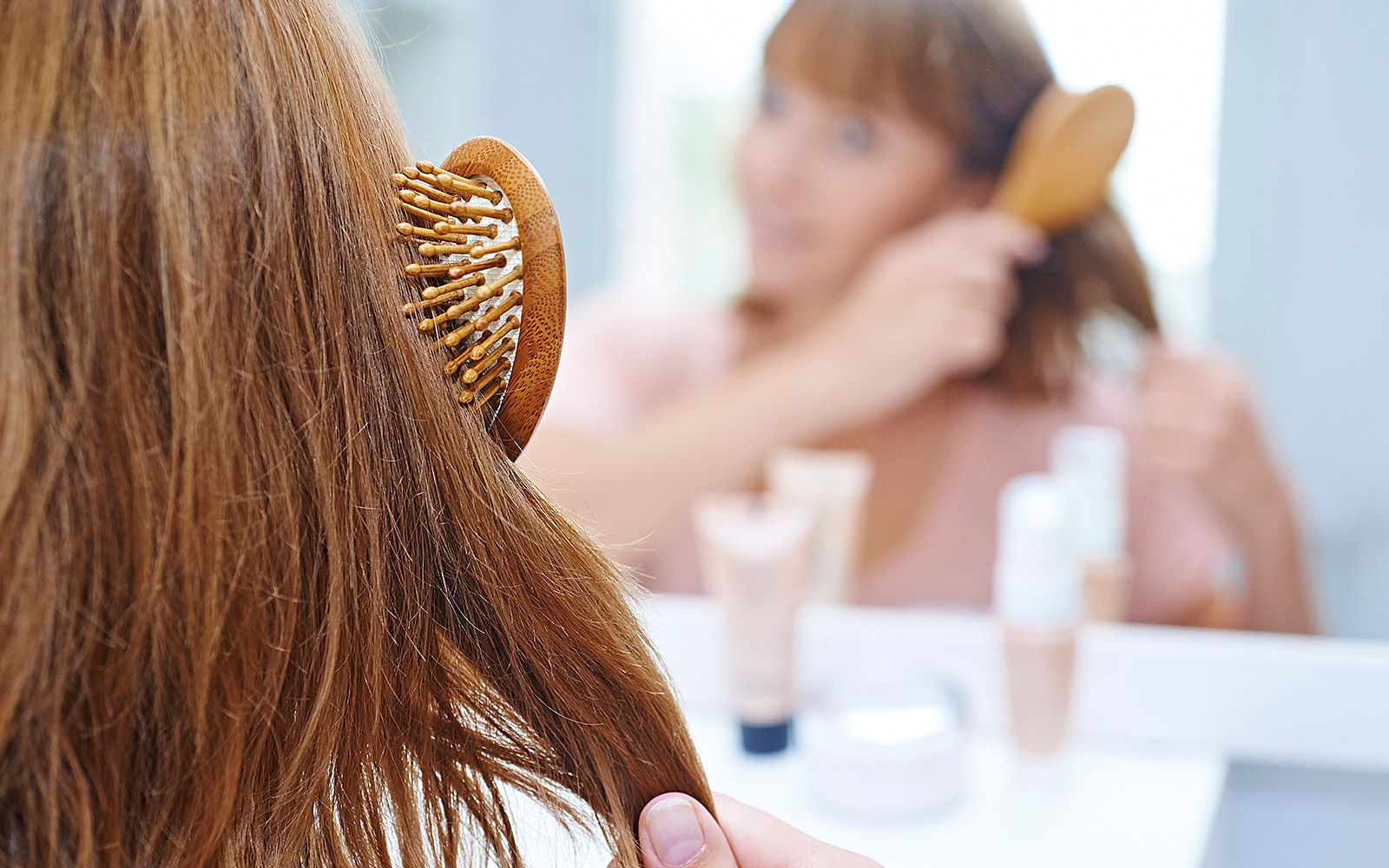 Are You Brushing Your Hair the Wrong Way?