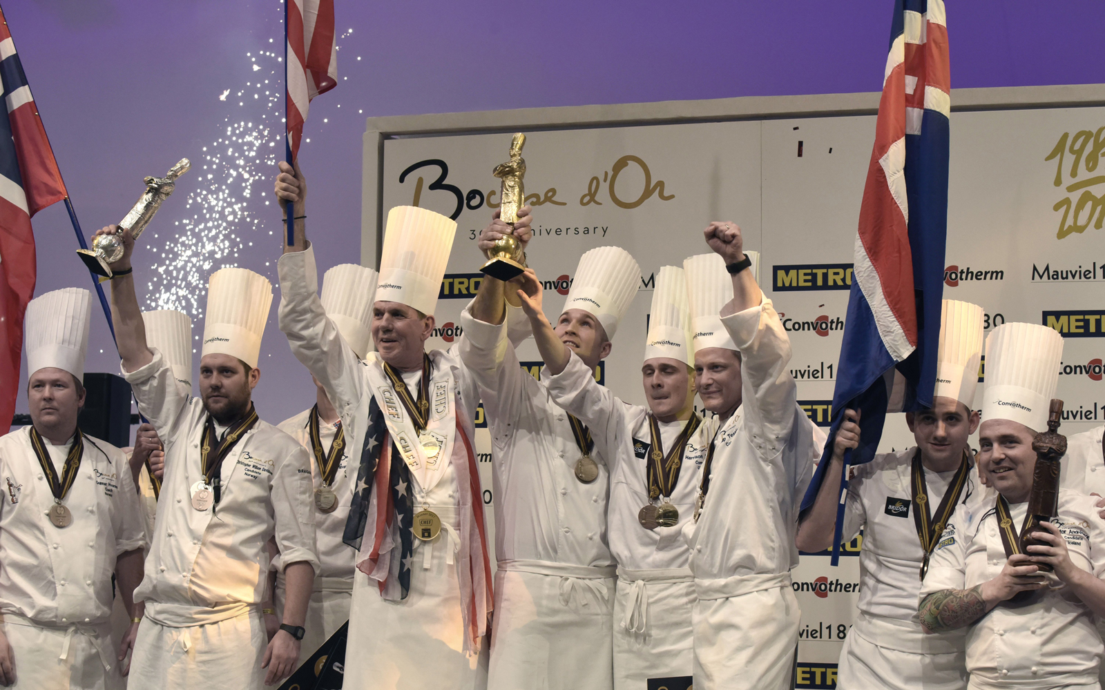 U.S. Wins Gold Medal for the First Time at 2017 Bocuse d'Or