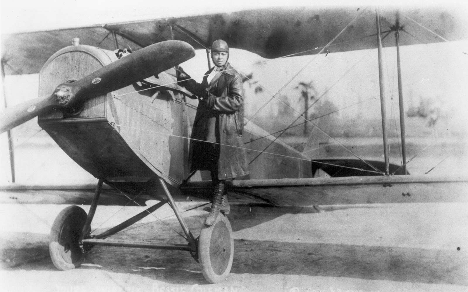 First Female African-American Pilot Bessie Coleman Honored on Her Birthday