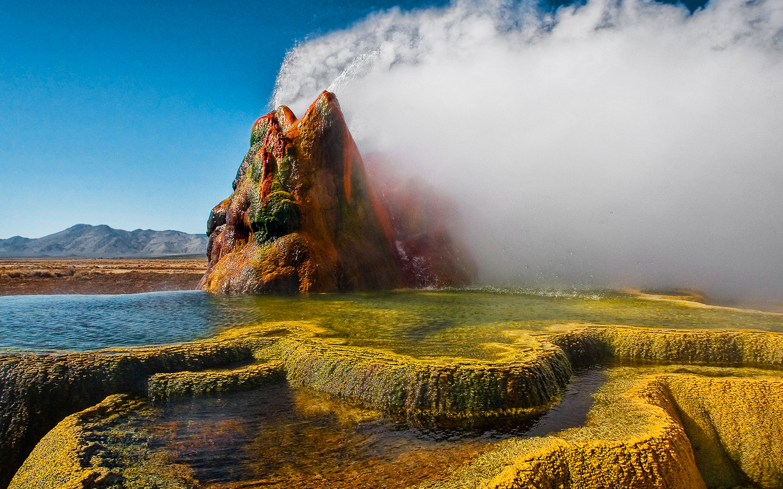 You Can't Visit Fly Geyser, But You're Going to Wish You Could After Seeing These Photos