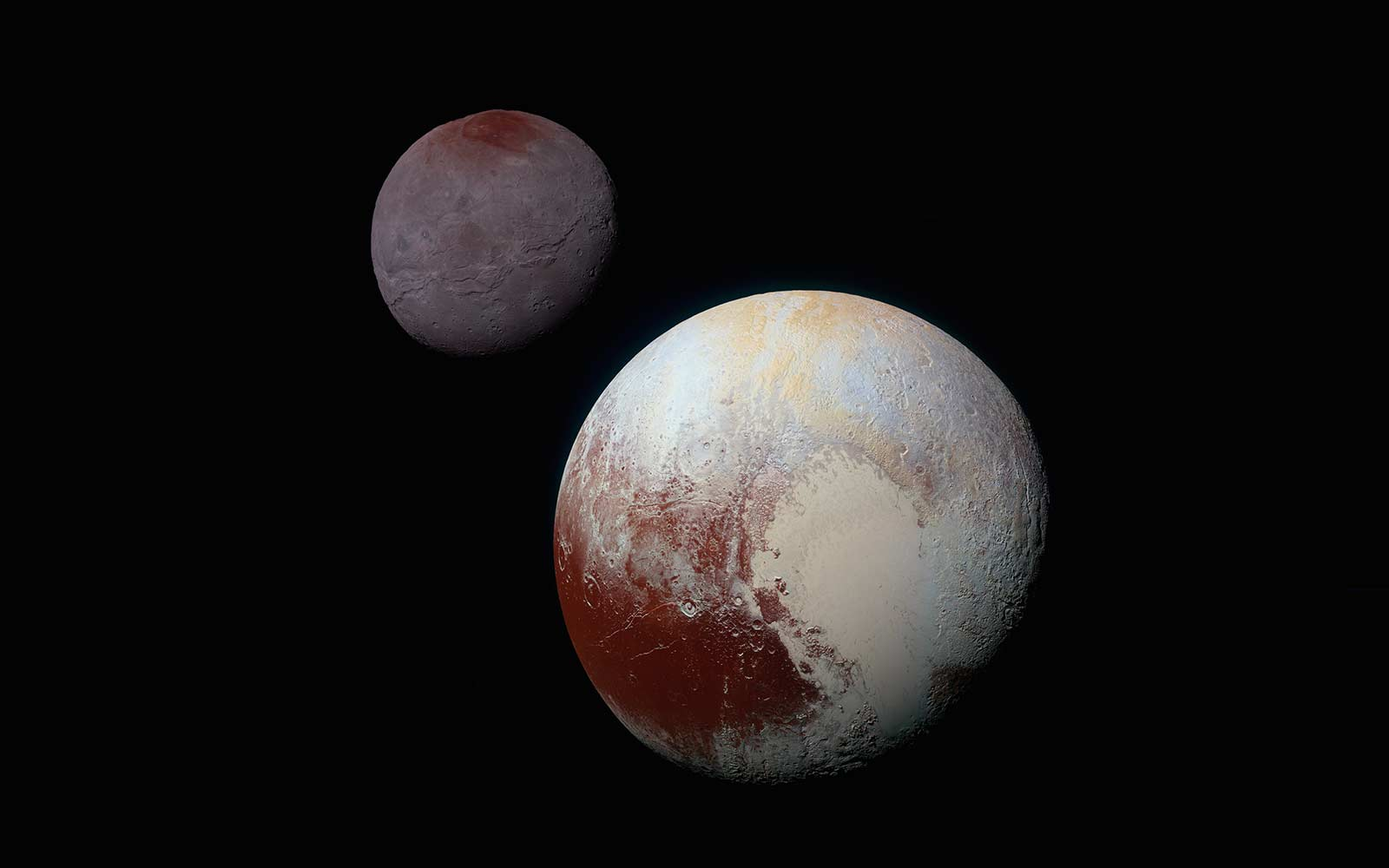 NASA Shows What Landing on Pluto Would Look Like