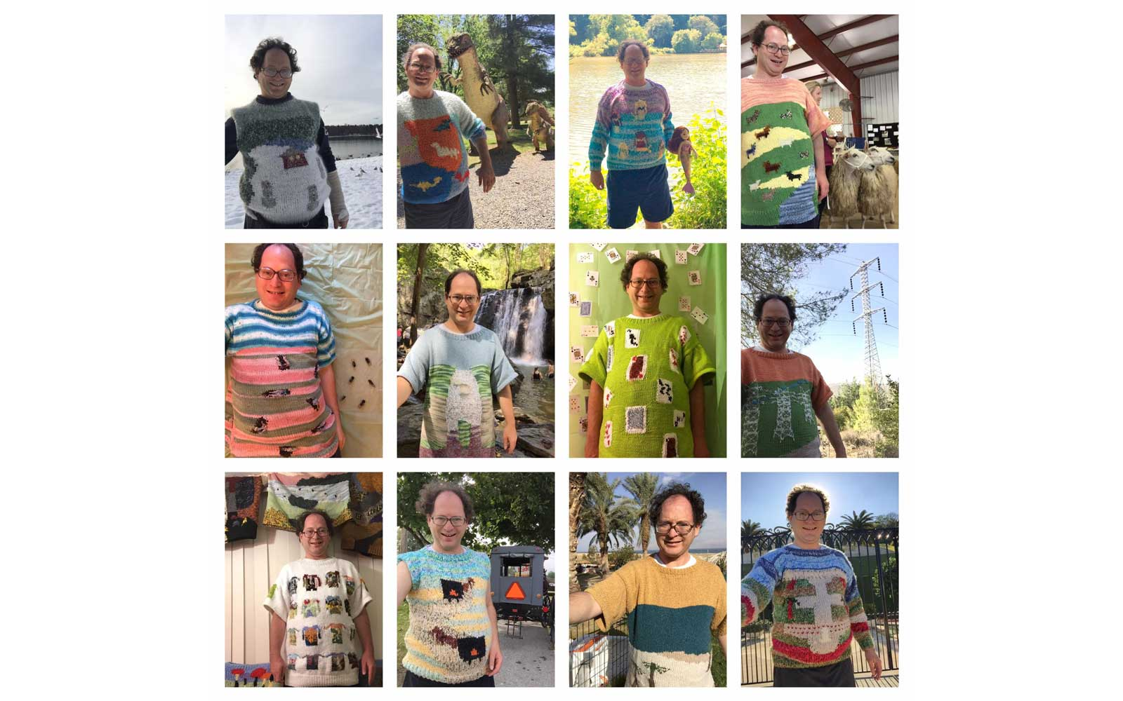 Sam Barsky Knits Amazing Sweaters