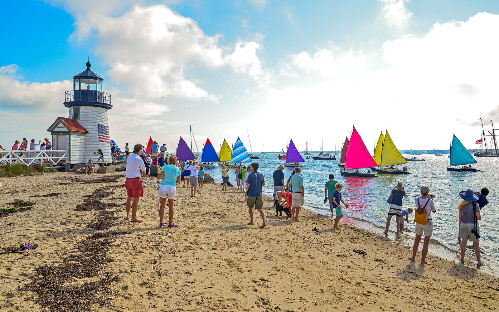 Nantucket Then and Now
