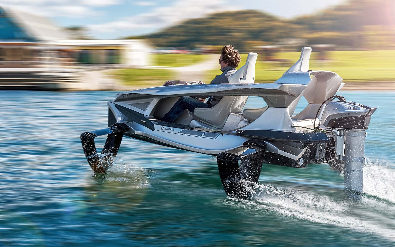 This New Watercraft Will Let You Glide Above the Water
