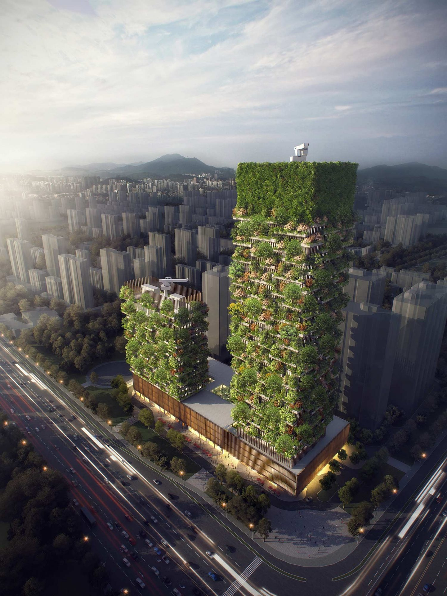 Nanjing Forest Towers China