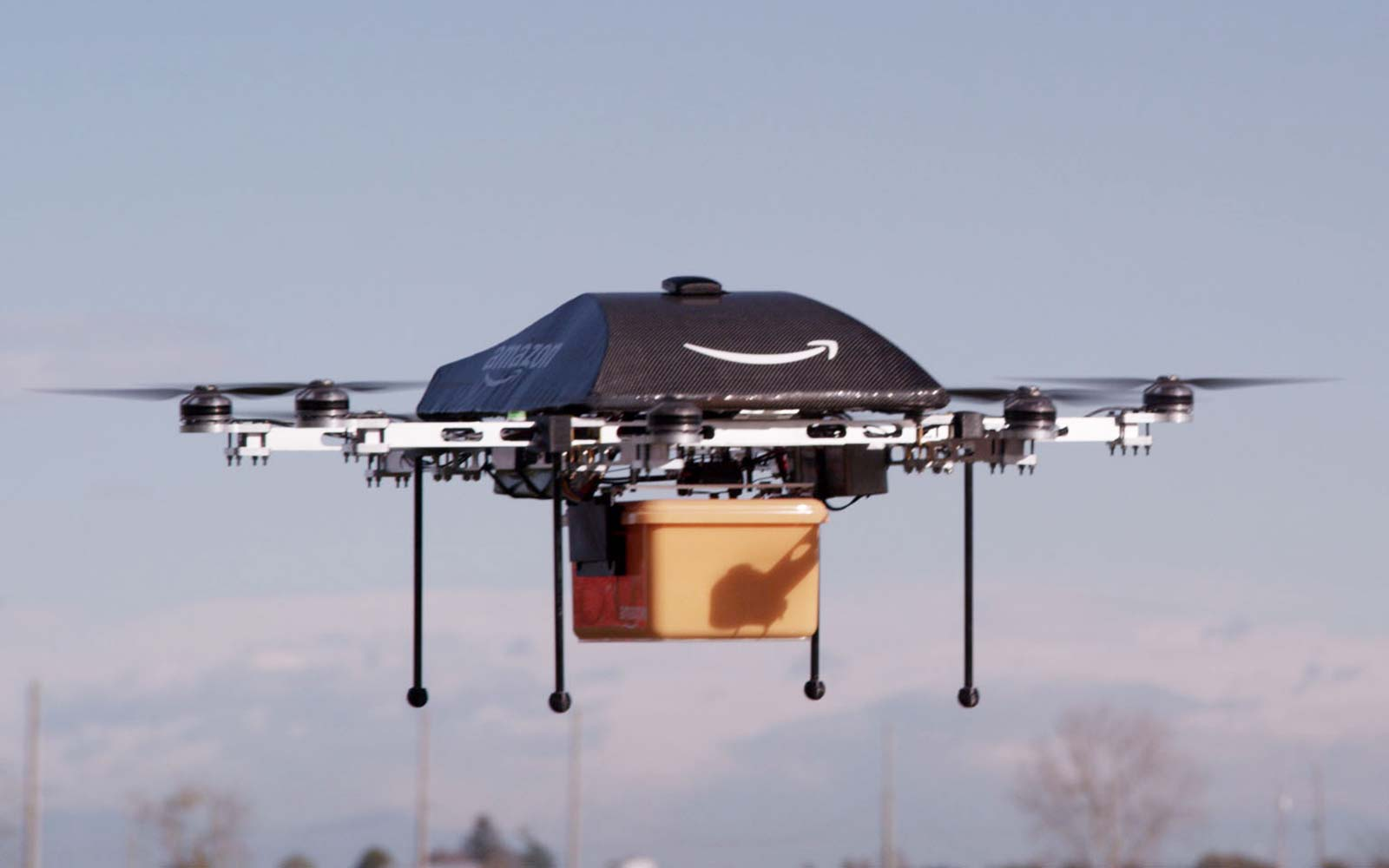Amazon Wants to Drop Your Packages by Parachute