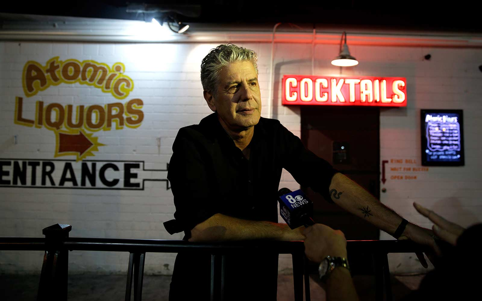 Anthony Bourdain Shares the One Thing He Never Does While Filming