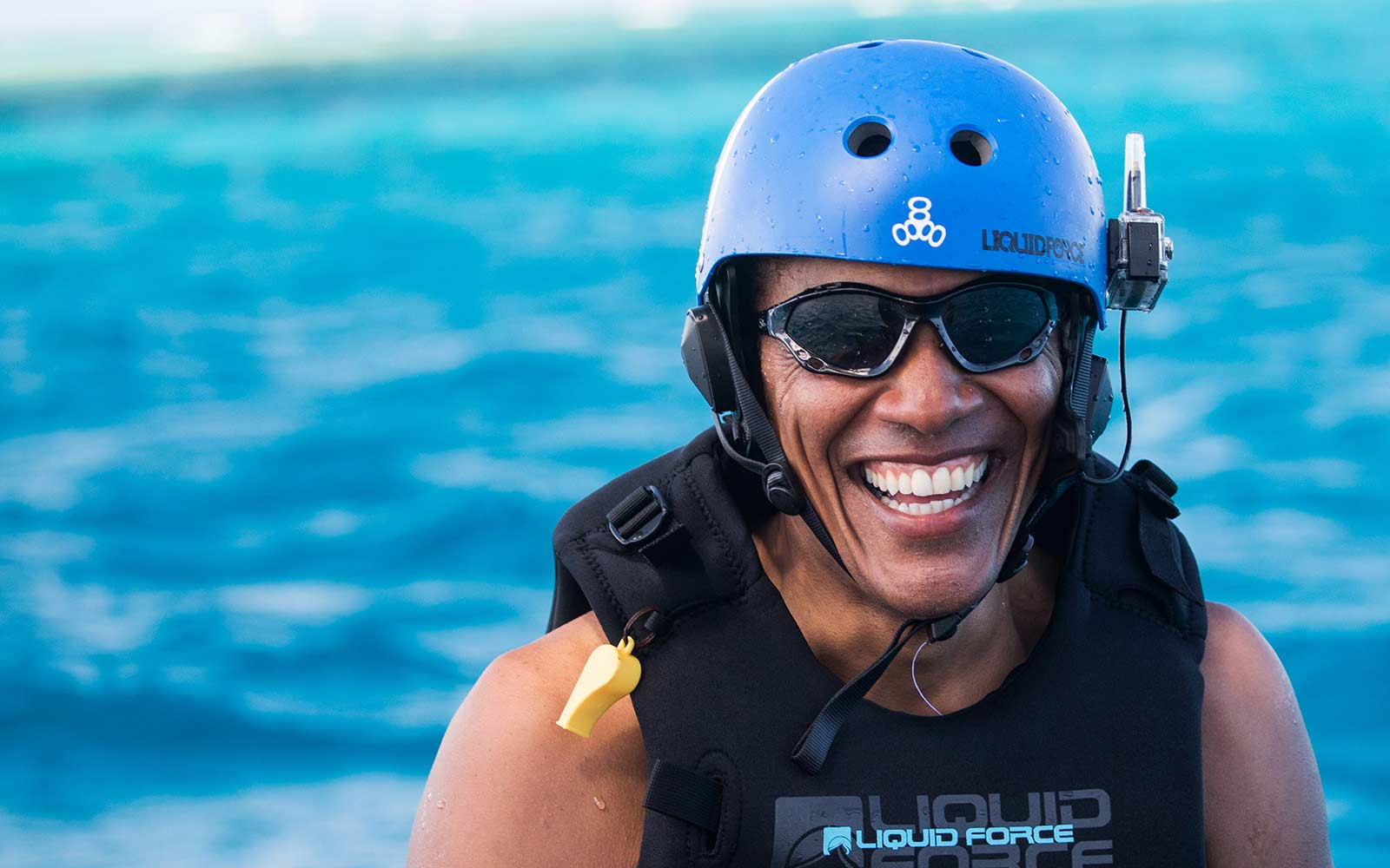 Barack Obama Is Kitesurfing With Richard Branson and Clearly Doesn't Miss Us