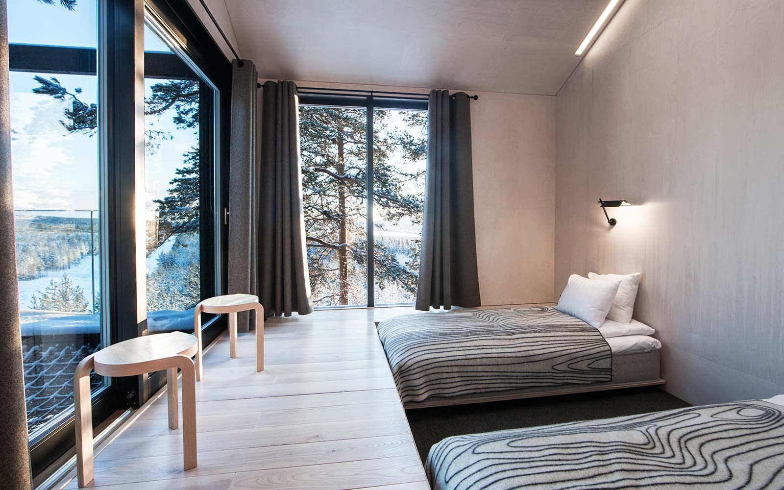 New treehouse in Sweden with Northern Lights views
