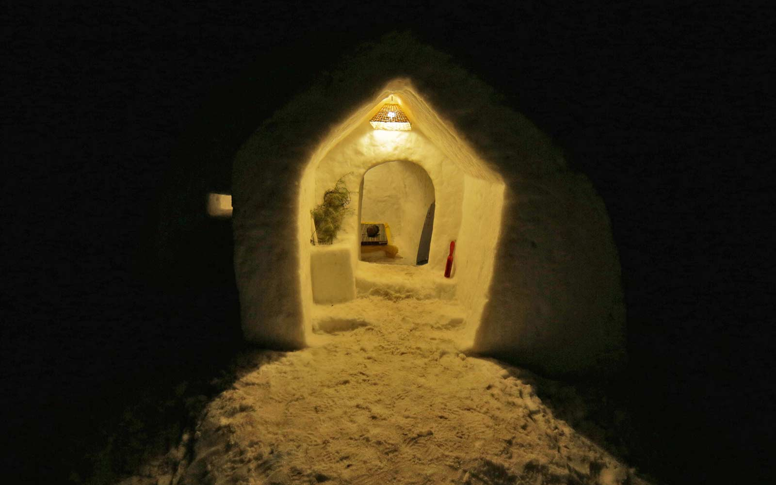 Image result for Igloo Stay in Manali