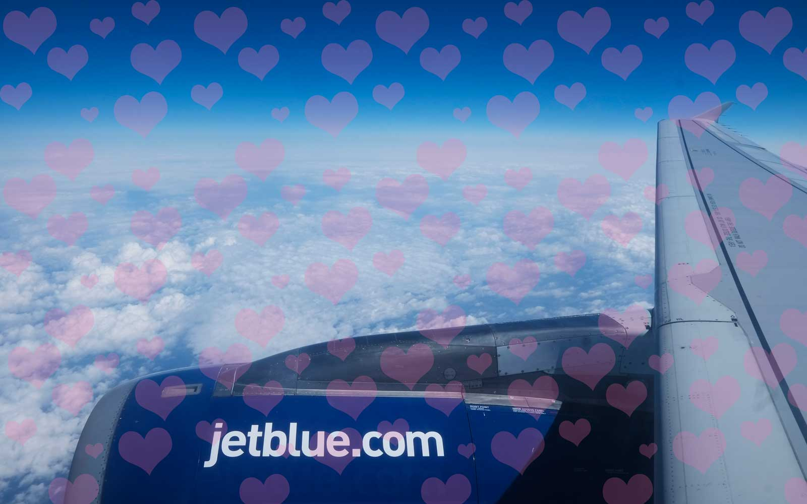 JetBlue Is Selling $39 Flights for Valentine's Day