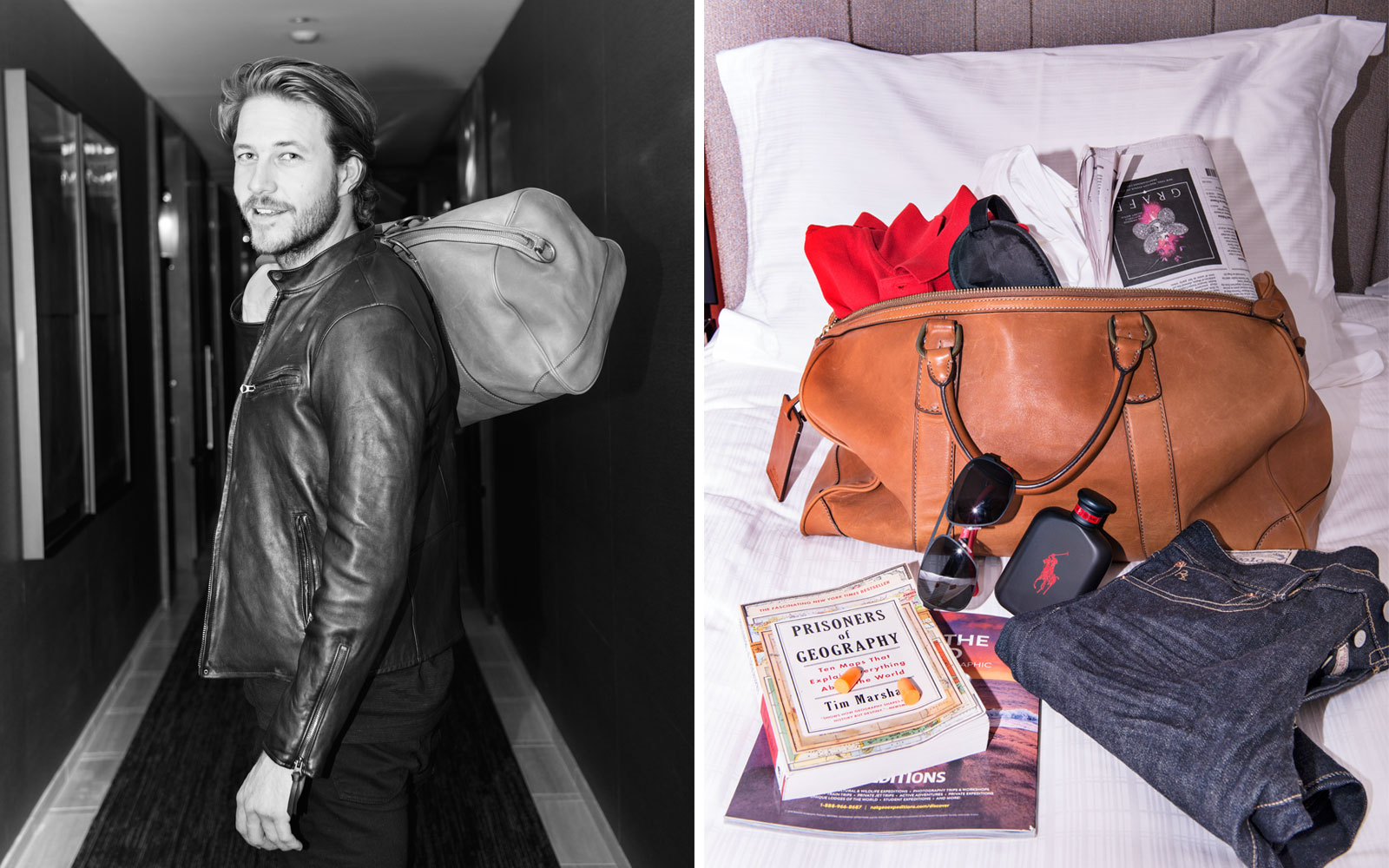 Luke Bracey's Travel Essentials