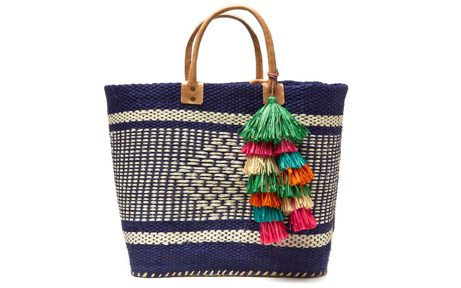 f892e41d4a18 Stylish and Sturdy Beach Bags You Can Use As a Carry-on | Travel + ...