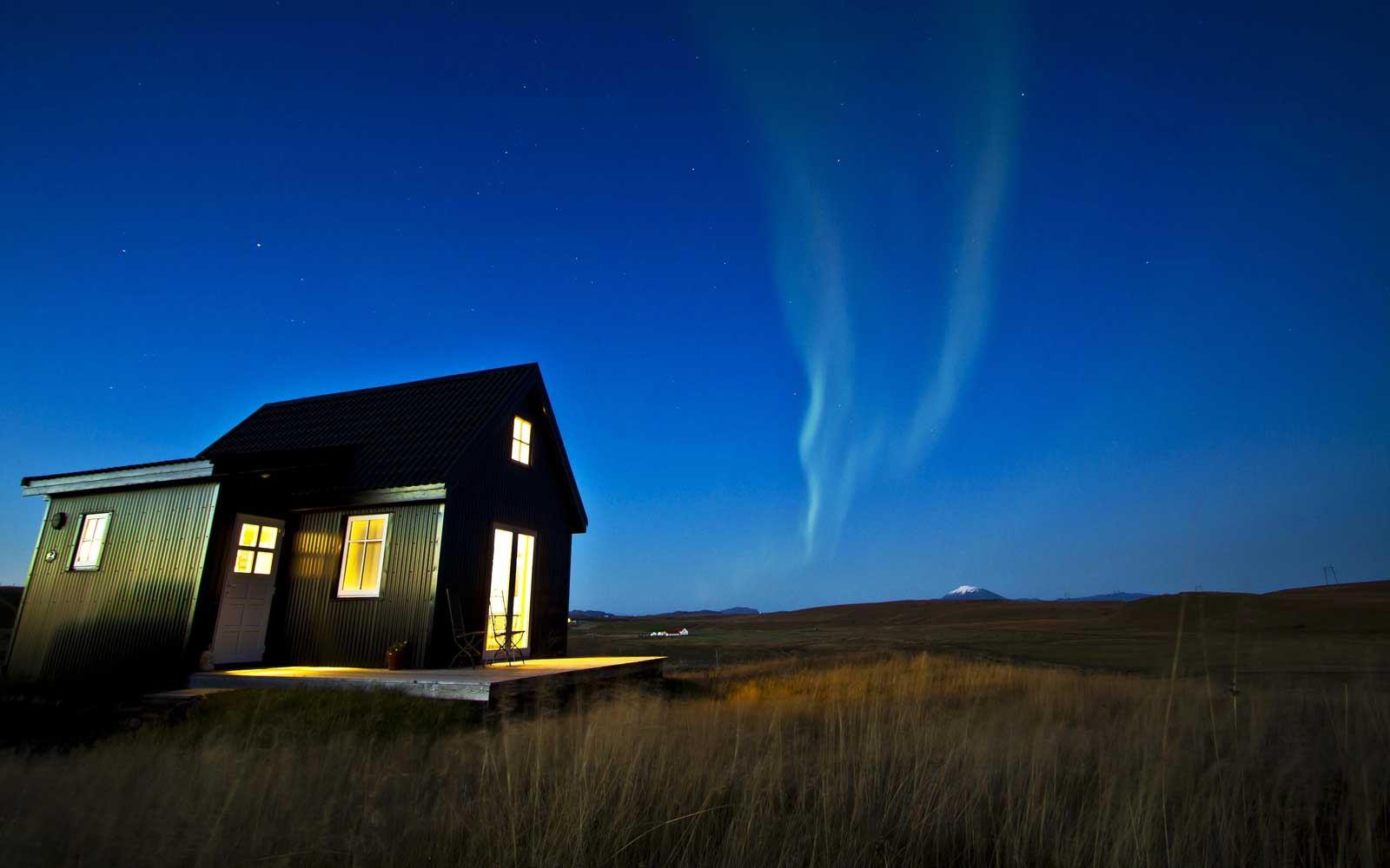 This Tiny Cabin In Iceland Might Be the Best Place to Watch the Northern Lights